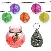 Lanternes et photophores