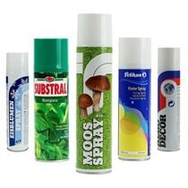 Peinture spray, vernis, colle