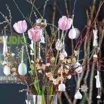 Branche de cerisier en fleurs rose 100 cm