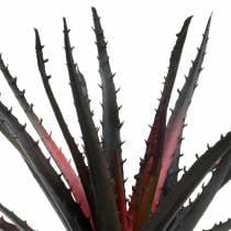 Aloe vera violet artificiel 26cm