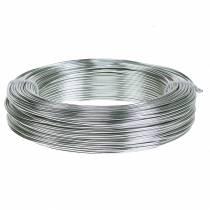 Fil aluminium 2mm 500g argent