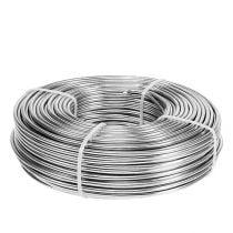 Fil aluminium 3mm 1kg argent