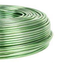 Fil en aluminium Ø 2 mm 500 g 60 m vert menthe