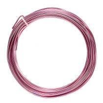 Fil en aluminium 2 mm 100 g rose