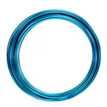 Fil en aluminium 2 mm 100 g turquoise