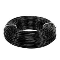 Fil aluminium Ø2mm 500g 60m noir