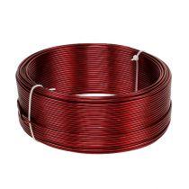 Fil en aluminium rouge Ø 2 mm 500 g (60 m)