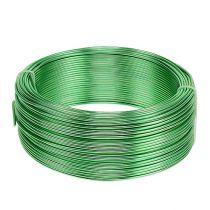 Fil en aluminium Ø 2 mm vert 500 g (60 m)