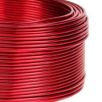 Fil en aluminium rouge Ø 2 mm 500 g 60 m