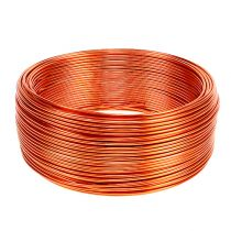 Fil en aluminium orange Ø 2 mm 500 g 60 m