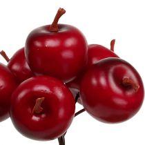 Pomme Ø3.5cm rouge 36pcs
