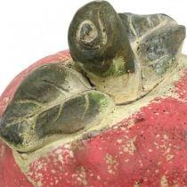 Pomme pour décorer, automne, fruit décoratif en béton, décoration de table Ø13cm