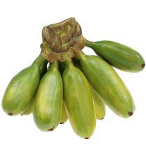 Bébé banane vivace artificiel vert 13cm