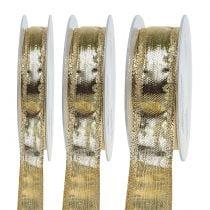 Bande avec bordure métallique Gold 25m