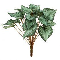 Touffe de bégonia vert artificiel 30 cm