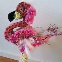 Figurine en mousse florale Flamingo 70cm x 35cm