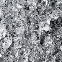 Feuille de métal en flocons argentés 15 g