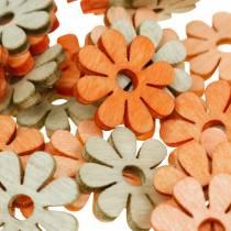 Fleurs à saupoudrer, décoration printanière, fleurs en bois, parsemer de fleurs décoration 144St