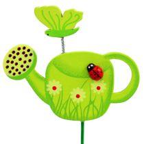 Bouchon de fleur arrosoir coloré bouchon de jardin décoration de printemps 16pcs