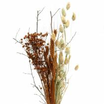 Bouquet de fleurs sauvages nature, orange 25–60cm 65g