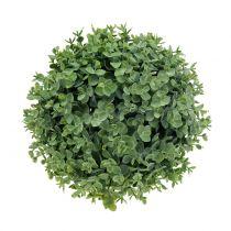 Boule de buis artificielle verte Ø 18 cm