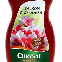 Chrysal balcon & géraniums 500ml