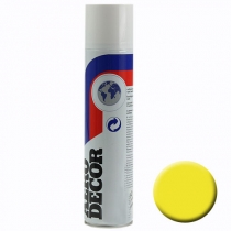 Spray de couleur jaune clair 400ml