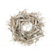Couronne décorative nature, gris Ø35cm 1p