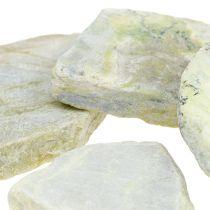 Mosaïque décorative pierres gris-vert mat 3cm - 8cm 1kg