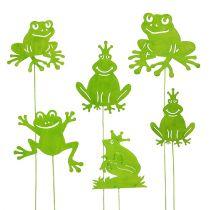 Pique décorative grenouille, 7 - 10 cm 12 p.
