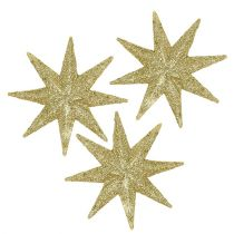 Étoiles décoratives or Ø5cm 20pcs