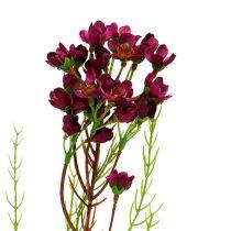 Branche décorative avec fleurs erica 80 cm 3 p.
