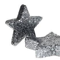 Étoiles de décoration pour la propagation 4-5cm noir 40pcs