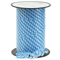 Ruban Deco Polyband Bleu-Blanc 5mm 250m