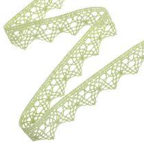 Ruban décoratif dentelle 22 mm 20 m