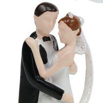 Figurine décorative couple de mariés 10, 5 cm
