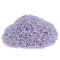 Granulé décoratif lilas 2mm - 3mm 2kg