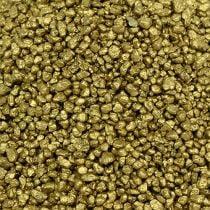 Granulé décoratif or jaune 2mm - 3mm 2kg