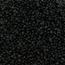 Granulé décoratif noir 2mm - 3mm 2kg