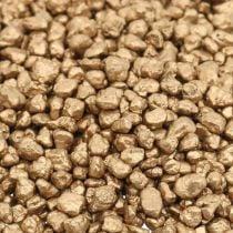 Gravier décoratif or granulé décoratif 2-3mm 2kg