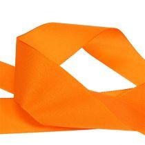 Ruban cadeau et décoration 40mm x 50m orange