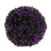 Boule décorative mauve Ø 20 cm