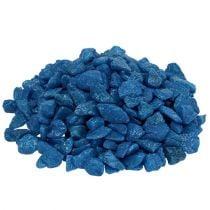 Pierres décoratives 9mm - 13mm bleu foncé 2kg