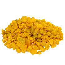 Pierres décoratives 9mm - 13mm jaune 2kg