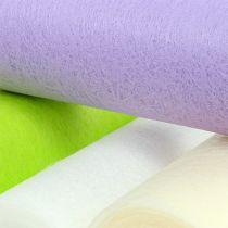 Intissé décoratif chemin de table coloris au choix 23 cm 25 m