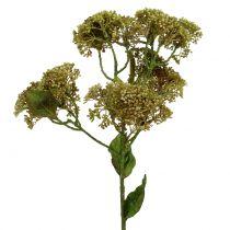 Branche décorative orpin vert 58 cm