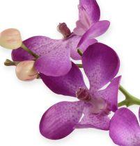 Orchidée mauve 38 cm