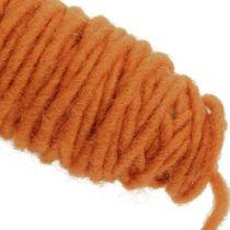 Fil de mèche 55m orange