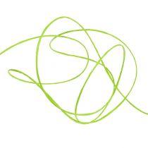 Fil de papier armé 50 m vert pomme