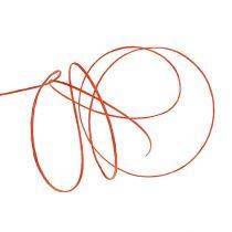 Fil de papier armé 50 m orange